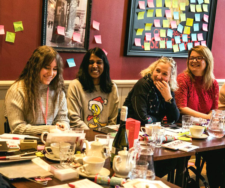 ladies at business networking in chingford