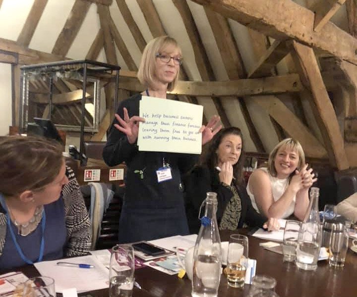 ladies at business networking barnet